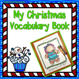 Christmas Activities : My Christmas Vocabulary Book