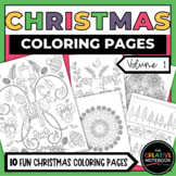 Christmas Coloring Book VOL 1 | Christmas Coloring Pages | Winter Coloring Pages
