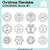 Christmas Coloring Book: Christmas Mandalas