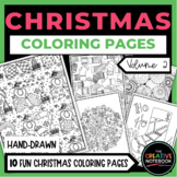 Christmas Coloring Book VOL 2 | Christmas Coloring Pages | Winter Coloring Pages