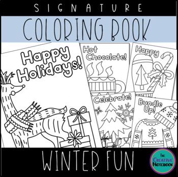 Christmas Coloring Book Vol 3 | Winter Coloring Pages | Christmas Coloring Pages