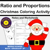 Christmas Coloring Challenge: Ratios and Proportions