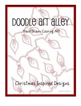 Christmas Coloring Ebook
