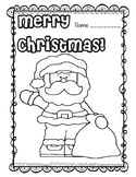 Christmas Coloring Pages FREEBIE!