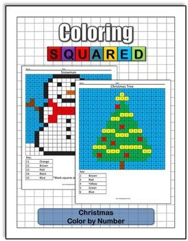 Christmas Coloring: Math Bundle