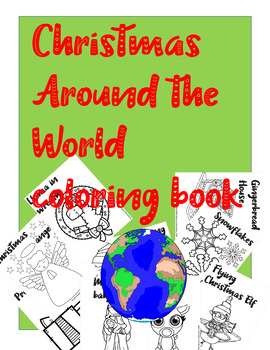 Christmas Coloring Pack - Coloring Book - Holiday Coloring, Artwork