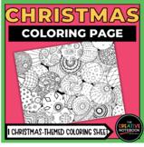 Christmas Coloring Page   Christmas Balls Coloring Page  