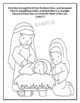 """""""The Birth of Jesus Christ"""" - Christmas Coloring Sheet - Print and Go!"""