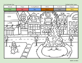 Christmas Coloring Page for Middle School Math Students! T