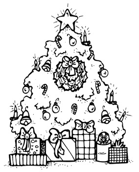 Christmas Coloring Pages - 25 Pages!