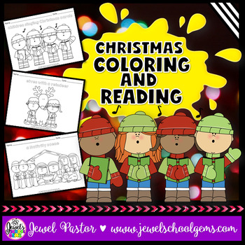 december activities christmas coloring pages