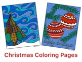 Christmas Activity- Coloring Pages