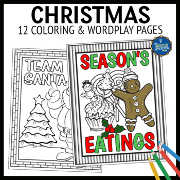 Christmas and Winter Coloring Pages