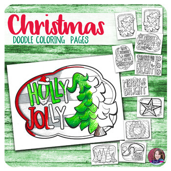 Christmas Coloring Pages - Vol. 3
