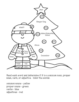 ... Christmas Coloring Pages: Addition And Language Arts