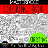 Christmas Coloring Pages: Masterpieces {Made by Creative Clips}