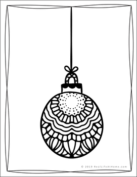 coloring pages : Free Christmas Coloring Pages For Adults New ... | 350x271
