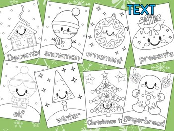 Christmas Coloring Pages - The Crayon Crowd, Santa Clause, elf, tree
