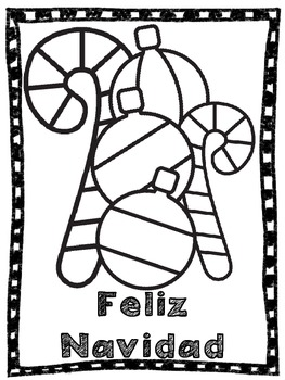 Christmas Coloring Pages and Themed Paper