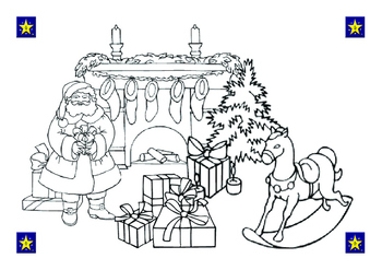 Christmas Coloring Pictures