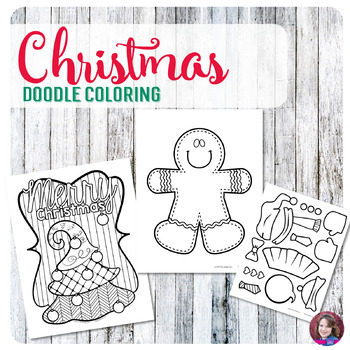 Christmas Coloring Pages - Vol. 1 by Heidi Babin | TpT