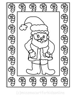 Christmas Coloring Sheets