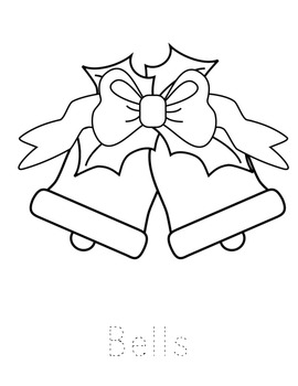 Christmas Coloring Sheets (Preschool & Kindergarten)