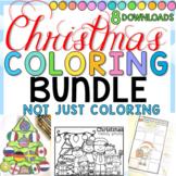 Christmas Coloring and More BUNDLE