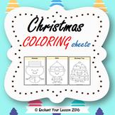 Christmas - Coloring sheets