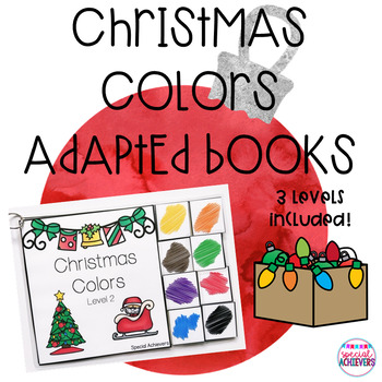 Christmas Colors Adapted Books