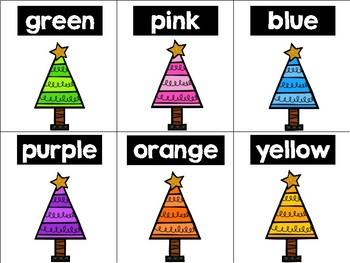 Christmas Colors {Freebie}