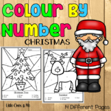 Christmas Colour By Number
