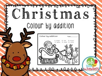 Christmas Colour by Addition
