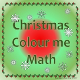 Christmas Colour me Math