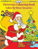 Christmas Colouring Book - Colour by Music Dynamics