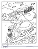 Christmas Colouring Book - Colour by Numbers - Addition