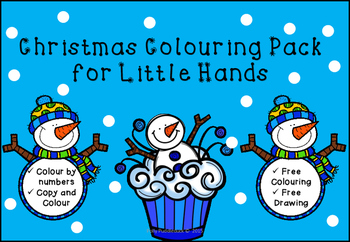 Christmas Colouring Book for Little Hands