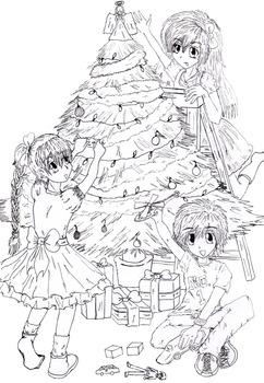 Christmas Colouring Page