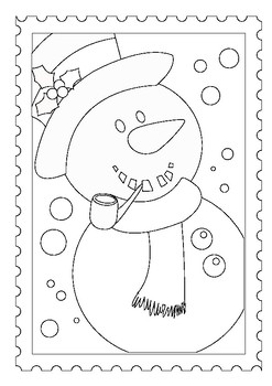 christmas colouring pages for mindfulness and happy holidays celebrations