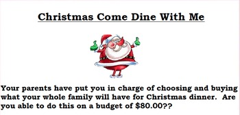 Christmas Come Dine With Me