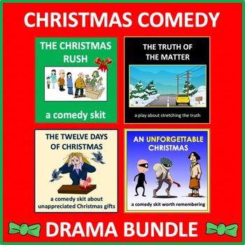 Christmas Comedy Drama Bundle - Four Christmas Plays