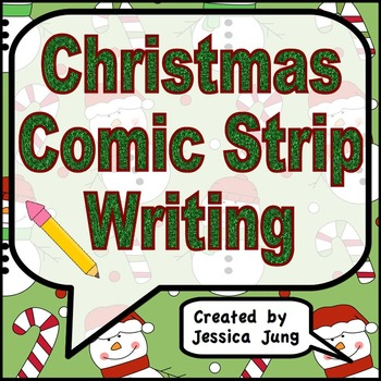 Christmas Comic Strip Writing