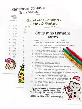 Christmas Commas