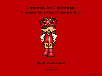 Christmas Grammar: Commas
