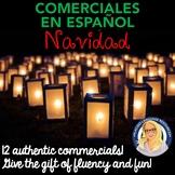 Christmas Navidad Commercials TWELVE activities!