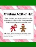 Christmas Common Core Addition Math Hunt