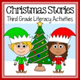 Christmas Literacy - Original Stories and Activities 3rd grade Distance Learning