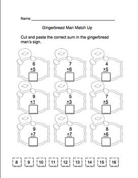 Christmas Math Common Core  Printables! grades 1-2