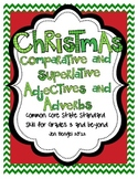 Christmas Comparative & Superlative Adjectives & Adverbs w