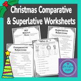 Christmas Comparative & Superlative Worksheets